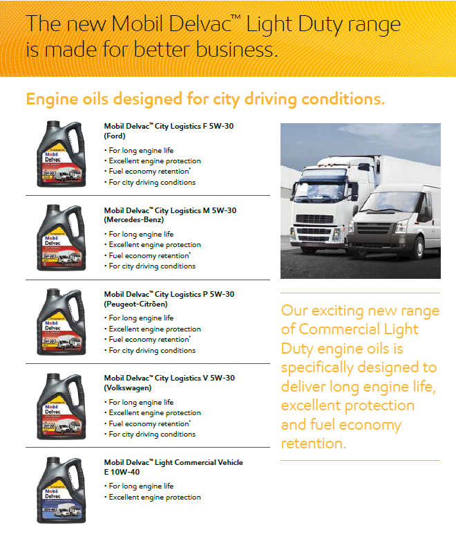 The leading Mobil lubricants distributor for Wales and the